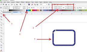membuat gambar transparan di corel draw x7 cara membuat objek kotak putus nyambung dengan coreldraw x7 4corel com
