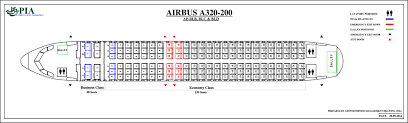 airbus a320 floor plan pia aircraft seat maps history of pia forum