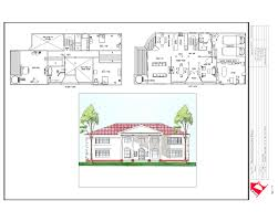 elevation and floor plan of a house house plans sections elevations pdf