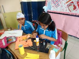 Flag Making Activity Under British Council Activities Mock Common Wealth Games Have