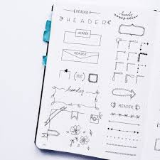 doodle 4 blank sheet planner doodles inspiration for your bullet journal
