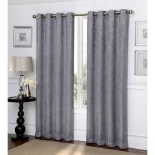 Big Lots Blackout Curtains by Ironwork Scroll Blackout Curtain Panel Walmart Com