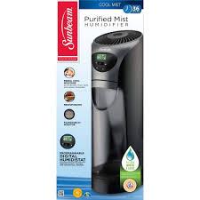 Best Small Bedroom Humidifiers Sunbeam Cool Mist Tower Humidifier Scm630bc Um Walmart Com