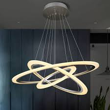 Led Pendant Lights Aliexpress Buy Modern Ring Circles Led Pendant Lights For