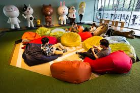 work environment beanbag chairs don u0027t make your company cool