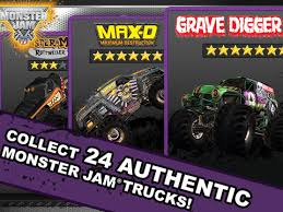 monster jam game app store