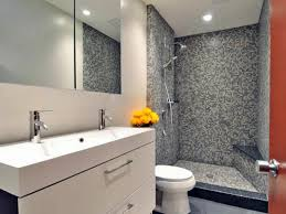 Modern Gray Tile Bathroom Townsend Modern Bathroom San Francisco Ca Gray White The 25 Best