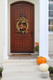 How To Decorate Home For Halloween Our Halloween Fall Decorations Home Of Malones