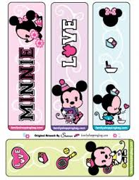 printable minnie bookmarks minnie mouse bookmarks free