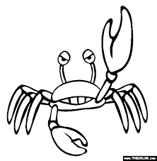 crab coloring pages 2 crab coloring pages wonderful crab
