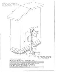 Pedestal Foundation Wiring Diagrams U0026 Specifications