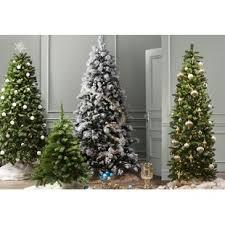 christmas tree prelit pre lit christmas trees you ll wayfair