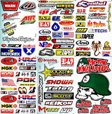 motocross helmet stickers amazon com motocross motorcycles dirt bike supercross lot 6 vinyl