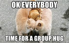 Group Hug Meme - i saw potential once forums