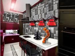 deco cuisine moderne deco mur de cuisine un mur en briques dans ma dco mur de brique de