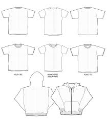 free blank t shirt templates