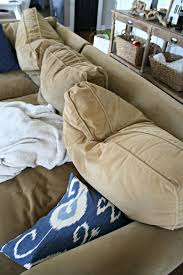 filled sofa a review of our most expensive purchase from thrifty decor