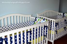 Baby Crib Bumpers Loving Life Diy No Sew Crib Bumper