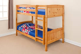 Solid Pine Bunk Beds Best Beds Quality Beds At Discount Prices Bunk Bed Lacquered