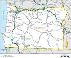 map of oregon eugene oregon map