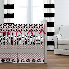 Black And White Crib Bedding For Boys Of Crib Bedding Carousel Designs