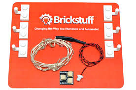 10 light color changing led light string for the brickstuff lego