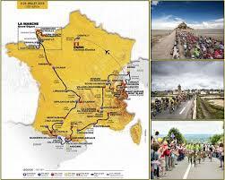 Tour De France Map by Recollections Of A Vagabonde The Tour De France 2016 Part 1
