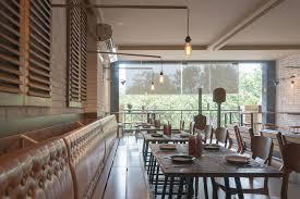 Restaurant Banquettes U0026 Wall Benches Pizzeria Restaurant Interior White Brick Wall Wooden Furniture