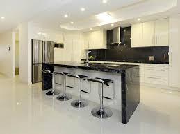 glossy tiles floor of modern home bar design idea using modern