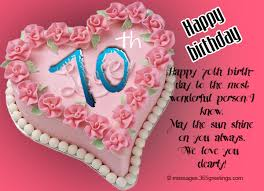 70th birthday wishes and messages 365greetings com