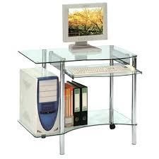 vente unique bureau vente bureau informatique bureau informatique en verre avec tablette