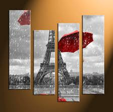 4 piece canvas wall art