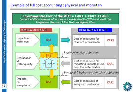 beyond the supply u0026 use tables water ecosystem capital accounts
