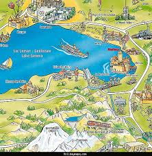 map of montreux map of montreux holidaymapq