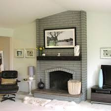 awesome 1000 ideas about painted brick fireplaces on pinterest