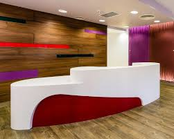 White Curved Reception Desk White Curved Solid Surface Office Reception Desk Artificial Stone
