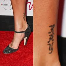 156 celebrity ankle tattoos page 4 of 16 steal her style page 4