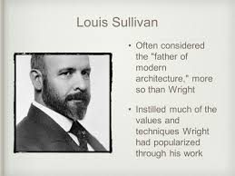 Louis Sullivan by Contemporary Architectural Pioneer And Modernist Of The Century