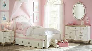 princess bedroom disney princess enchanted kingdom white 5 pc full panel bedroom