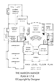 marion manor house plan house plans by garrell associates inc marion manor house plan 17 8 main level floor plan