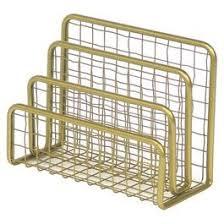 gold desk accessories target nate berkus for target gold desk accessories mail holder home