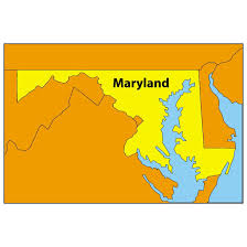 maryland map vector map of maryland at vectorportal