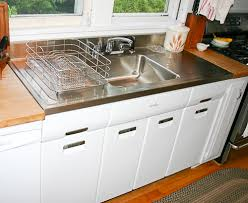drop in kitchen sink with drainboard farmhouse drainboard sinks retro renovation