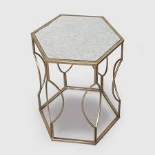 Z Shaped Side Table Table Astonishing Hexagonal Shaped Coffee Table Formidable