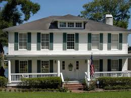 Colonial Style Floor Plans by Colonial Style Homes