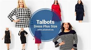 talbots plus size dresses pluslook eu collection