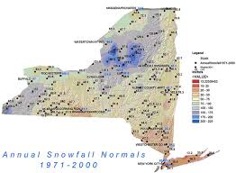 map of state of ny average annual snowfall new york state ny ski