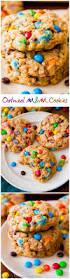 chewy oatmeal m u0026m cookies sallys baking addiction