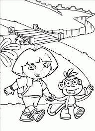 diego coloring pages dora boots coloring pages 180115