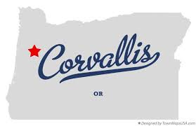 map of corvallis or oregon